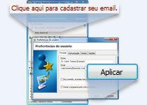 Cadastrar email