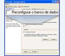 Reconfigurar o banco de dados